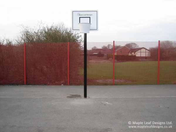 Anti-Vandal Basketball Shoot