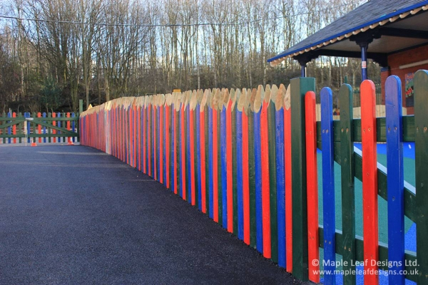 Pencil Stockade Fencing