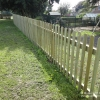 Timber Bow Top Fencing