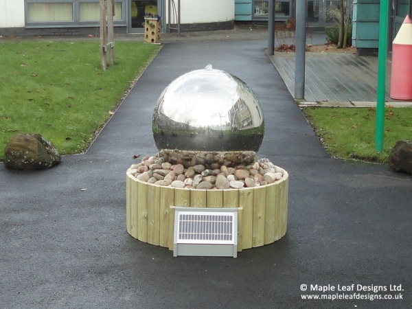 Spherical Water Feature