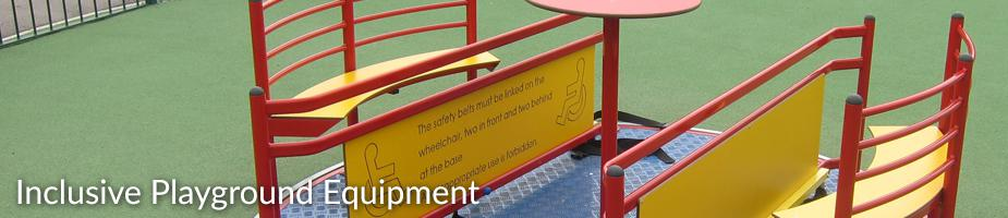 Inclusive Playground Equipment