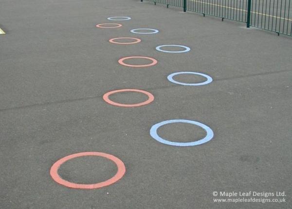 Jumping Circle Markings