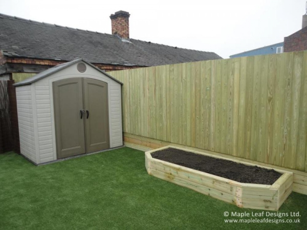 Closed Board Timber Fencing