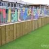 Timber Stockade Fencing