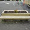 Rectangular Planter with Bench