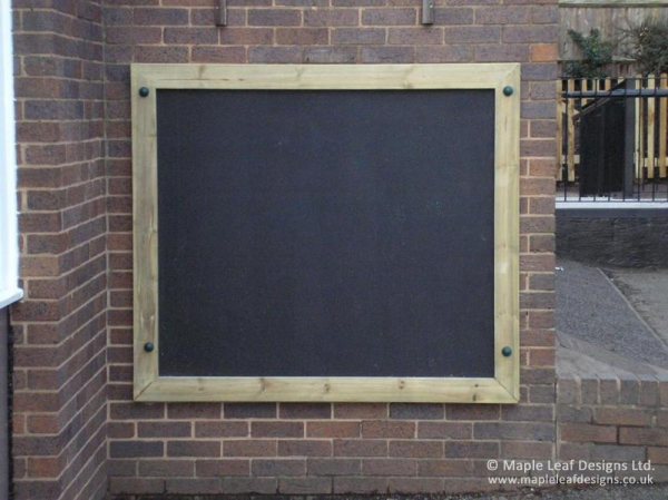 Small Wall Mounted Magnet Compatible Chalkboard