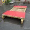 Lockable Sandpit with HDPE Rolling Lids