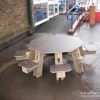 Sproston Eight Seat Picnic Table