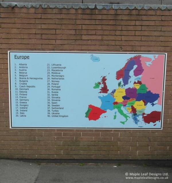 European Map Panel
