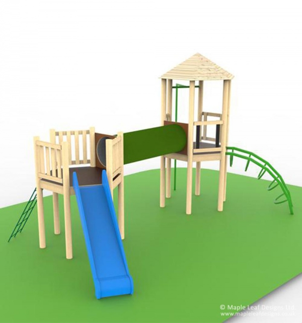 Maxi Jungle Play Tower