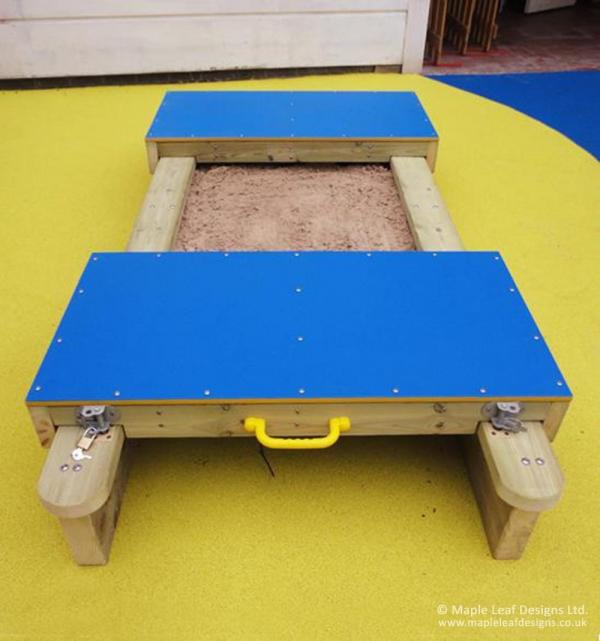 Mini Lockable Sandpit with HDPE Lids