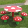 Mushroom Table and Seats