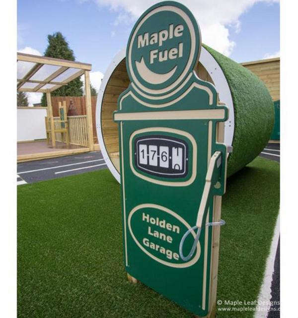 Petrol Station Play Pump