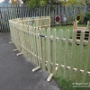 Movable Timber Bowtop Fencing