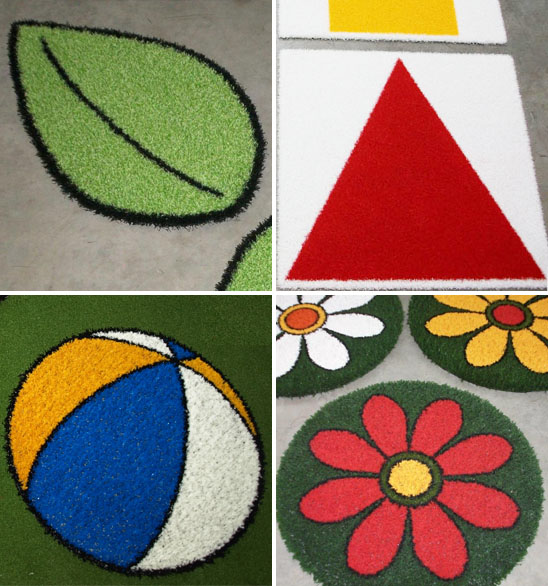 Artificial Grass Shapes