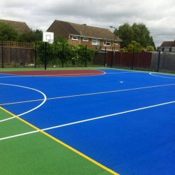 Acrylic Ball Court Markings
