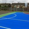 Acrylic Ball Court Markings