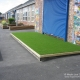 Artificial Grass Stage