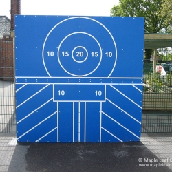 Large HDPE Ball Target