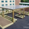Timber Pergola with Polycarbonate Roof