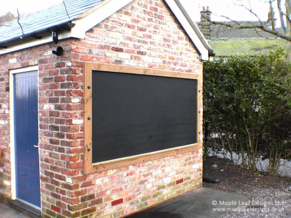 Wall Mounted Magnet Compatible Chalkboard