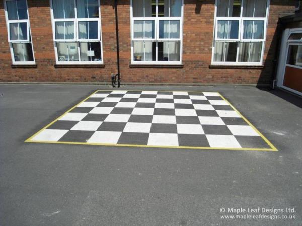 Chess Board Markings