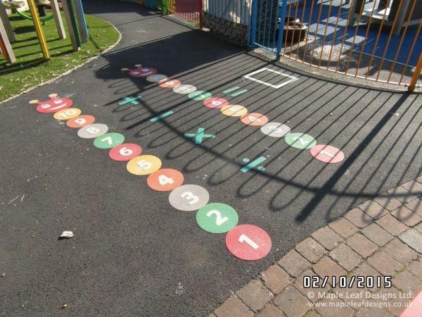 Counting Caterpillar Markings