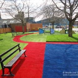 Coloured Artificial Grass