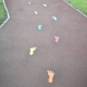 Footprints Playground Markings