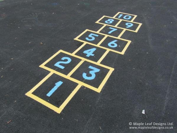 Hopscotch Line Markings