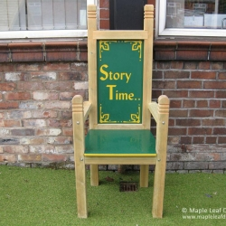 HDPE Storytelling Throne