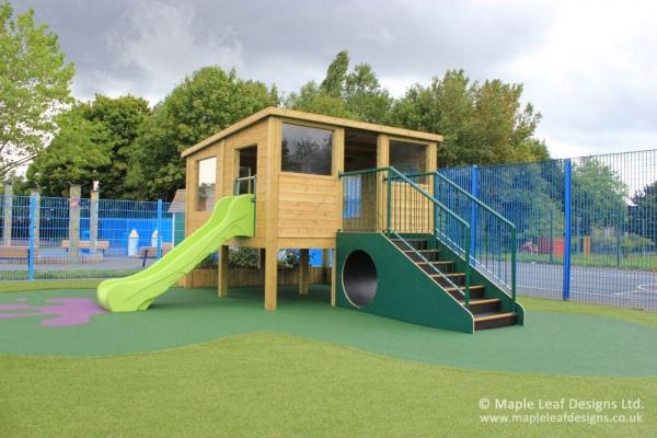 Observation Den with Slide