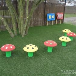 Mushroom Seats