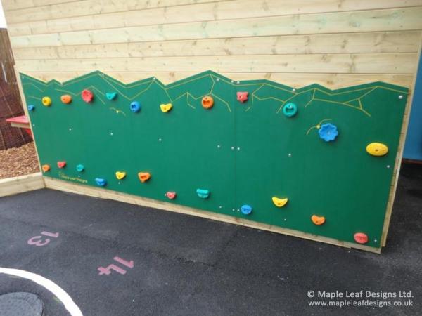 Wall Mounted Mountain Traverse Wall