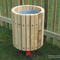Timber Strip Bin