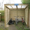 Timber Cycle Shed