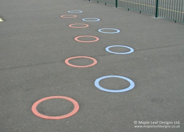 Jumping Circle Markings