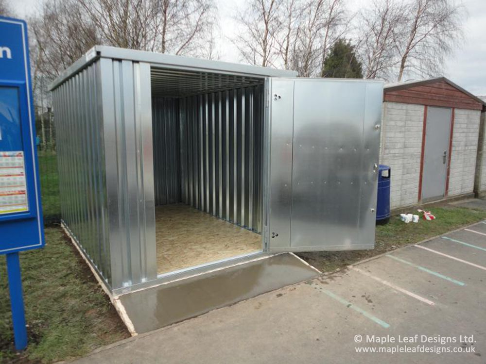 Galvanised Steel Storage Container By, Galvanised Storage Container