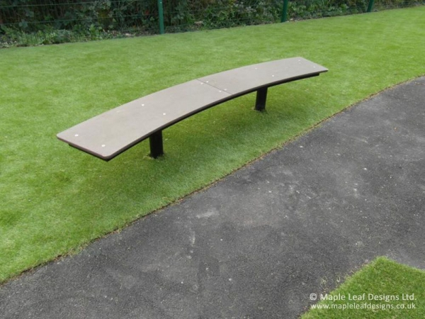 Curved Bench Seat