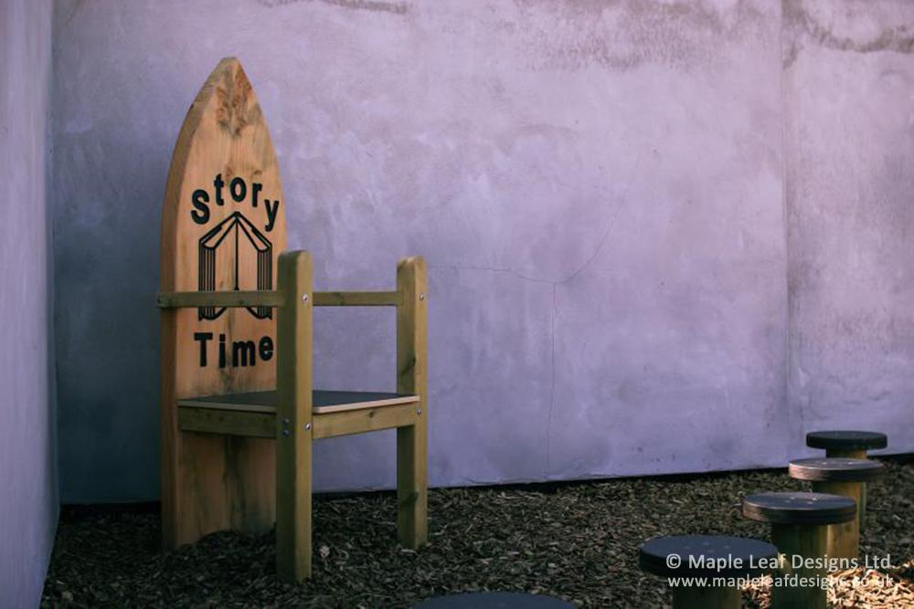 Parkroyal Primary School Storytelling Chair