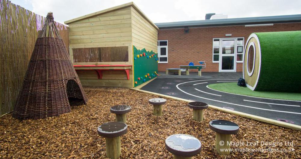 Holden Lane Primary School Natural Play Area