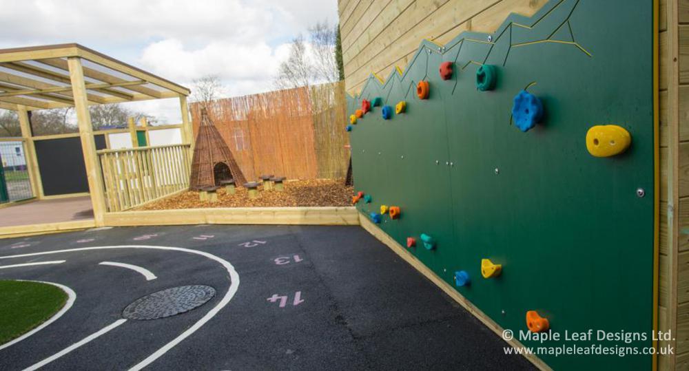 Holden Lane Primary School Traverse Wall