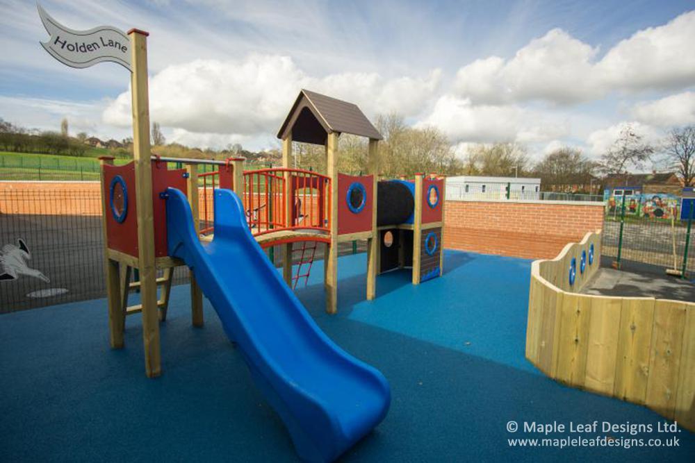 Holden Lane Primary School Play Tower