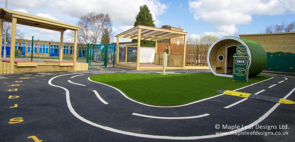 Holden Lane Primary School Roadway
