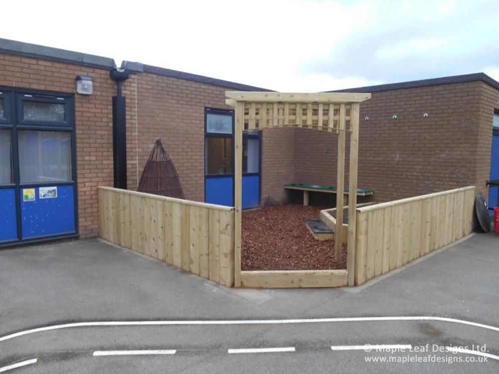 Sankey Valley Primary School Natural Play Area