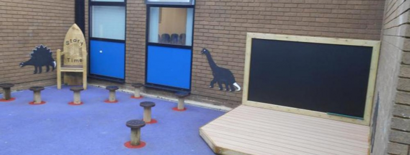 Sankey Valley Primary School Stage Area