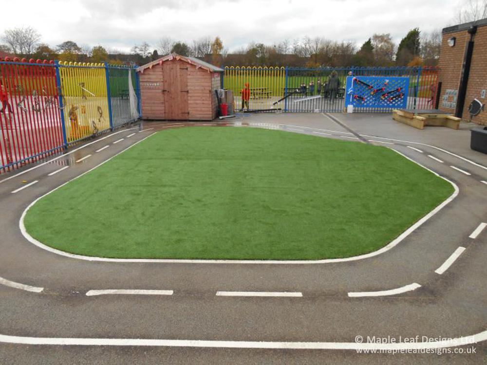 Sankey Valley Primary School Trackway