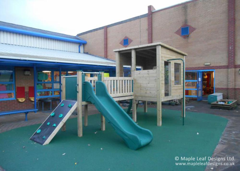 The Willows Primary School Observation Play Tower