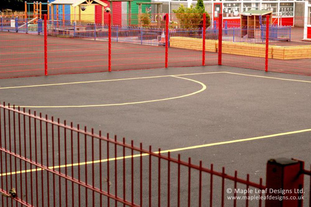 Abbott Community Primary School Ball Court