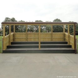 Covered Tiered Seating